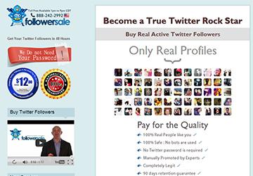 FollowerSale Online Twitter Hizmetleri Satışı